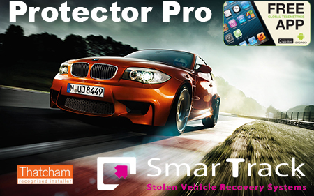 smartrack-protector pro tracker trident stolen bmw audi range rover